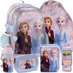 Modny Duży Plecak Kraina Lodu Szkolny dla Dziewczyny [DOE-081]