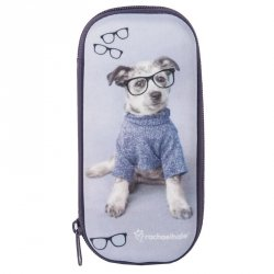Piórnik Etui Szkolny Pies dla Dziewczyny
