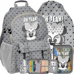 Komplet Plecak Szkolny Myszka Minnie Mini dla Dziewczyny  [DMMI-810]