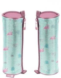 Piórnik Flamingi Tuba Szkolny dla Dziewczyny [PPLF19-003]