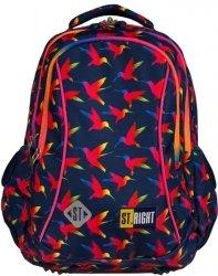 Plecak Młodzieżowy St.Right Majewski dla Dziewczyny Rainbow Birds [BP26]
