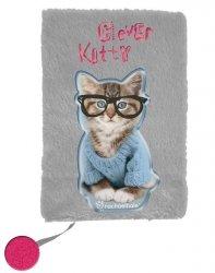Pamiętnik Pluszowy z Kotem dla Dziewczynki [RHW-3670]