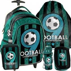 Plecak z Kółkami dla Chłopaka Piłka Nożna Zestaw [PP19F-997]