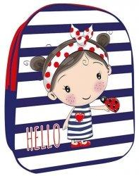 Plecak Plecaczek 3D do Przedszkola z Dziewczynką [607787]