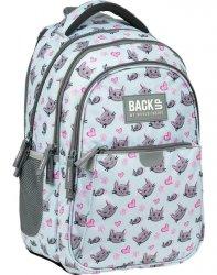 Backup Plecak Młodzieżowy Kotki i Myszki Szkolny dla Dziewczyny [PLB3P33]