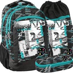 Plecak dla Chłopaka Młodzieżowy Szkolny Maui&Sons [MAUB-2808]
