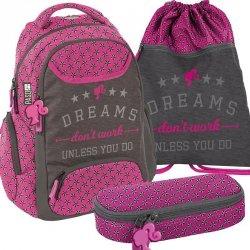 Plecak Młodzieżowy Szkolny Zestaw Dreams [BAC-2908]