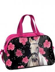 Torba Sportowa Dziecięca Konie Podróżna [18-074HR]
