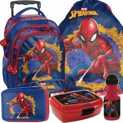 Plecak z Kółkami Spiderman Szkolny dla Ucznia [SPU-300]