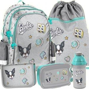 Plecak Szkolny Barbie dla Nastolatki Modny Zestaw [BAR-081]