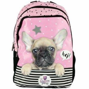 Plecak z Pieskiem Plecaczek Przedszkolny dla Dziewczynki [609482]