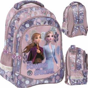 Plecak Kraina Lodu 2 Szkolny dla Dziewczynki Różowy [DOG-181]