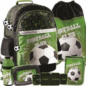 Nowoczesny Plecak do Szkoły dla Chłopaków z Motto Piłka Nożna [PP20FO-116]