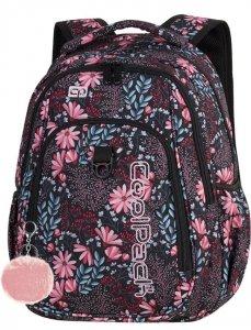 Plecak CoolPack Cp Młodzieżowy Kwiaty Coral Blossom [87155CP]