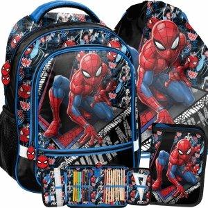 Spider Man Plecak Szkolny do 1 Klasy dla Chłopaka Paso [SPW-260]