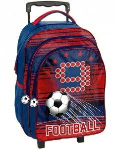Plecak na Kółkach Szkolny Piłka Nożna dla Chłopaka [PP19FT-300]