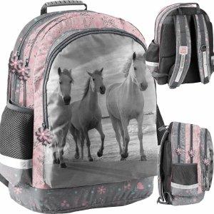 Konie Plecak Szkolny dla Dziewczyny Paso Koń [PP21HO-116]