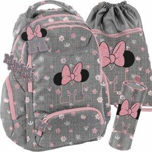 Komplet Dziewczęcy Plecak Myszka Mini Minnie BeUniq [DIST-2908]