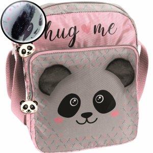 Torebka z Pluszowymi Uszami Miś Panda dla Dziewczyny Torebeczka [PP20PA-108]