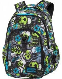 Plecak CP CoolPack dla Chłopaka z Piłką Niebieski Zielony [C18230]