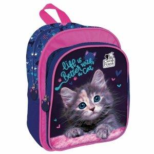 Mały Kotek Plecaczek Plecak z Kotkiem dla Przedszkolaka Kot [PL11CF30]