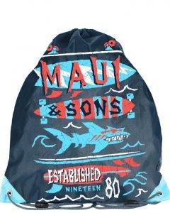 Worek Szkolny na Buty Kapcie Maui&Sons dla Chłopaka [MAUL-712]