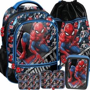 Spiderman Nowy Szkolny Plecak Chłopięcy do 1 Klasy [SPW-260]