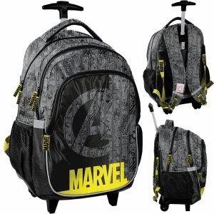 Plecak na Kółkach Avengers Szkolny dla Chłopaka Iron Man Hulk Thor [ANA-997]