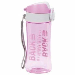 Bidon Butelka na Picie Backup Tritanum Free BPA Różowy [BB4A]