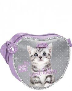 Torebka z Kotkiem Kot Torebeczka dla Dziewczynki [PTC-404]
