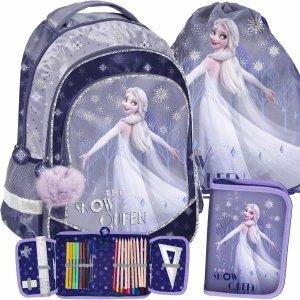 Plecak w Zestawie Kraina Lodu 2 Szkolny dla Dziewczynki Paso [DOK-181]