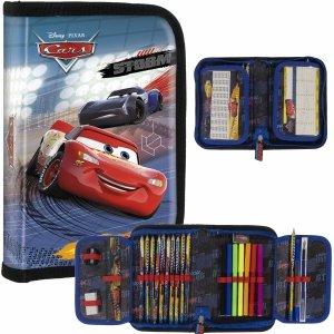 Zygzak Piórnik Auta Cars dla Chłopaków z Wyposażeniem Szkolny [PWJCA44]