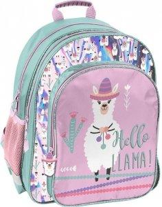 Plecak Szkolny Lamy Dziewczęcy w Lamy z Lamami [PP19LA-090]