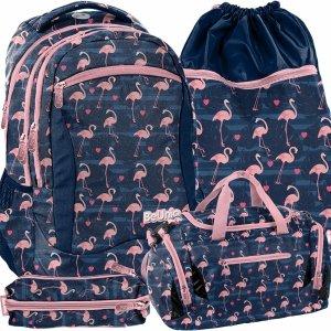 Plecak Różowe Flamingi Młodzieżowy Szkolny dla Dziewczyny [PPNG20-2808]