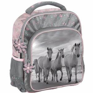 Plecak do Zerówki Przedszkola Konie dla Dziewczynki [PP21HO-337]