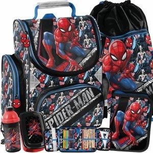 Tornister Chłopięcy Szkolny do 1 Klasy Spider Man Paso [SPW-525]