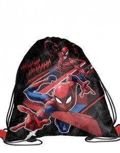 Worek Spiderman Szkolny na Wf Obuwie Kapcie Chłopięcy [SPV-712]
