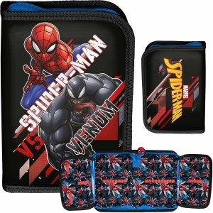 Rozkładany Piórnik Spider Man dla Chłopaka do Szkoły Marvel [SPX-001/BW]