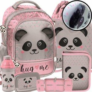 Szkolny Plecak dla Dziewczynki Misiu Panda z Uszami Odstającymi [PP20PA-260]