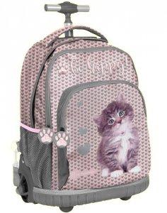 Plecak na Kółkach z Kotkiem Kot dla Dziewczyny [RLD-887]