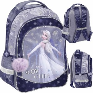 Plecak Kraina Lodu 2 Szkolny dla Dziewczynki Fioletowy [DOK-181]
