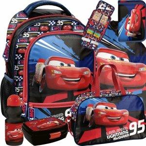 Nowoczesny Plecak Chłopięcy Zygzak Auta Cars Auto Paso [DSD-260]