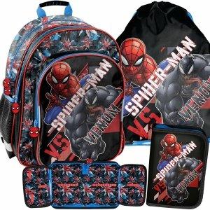 Szkolny Plecak dla Dziecka Chłopięcy Venom Spiderman Paso [SPX-090]