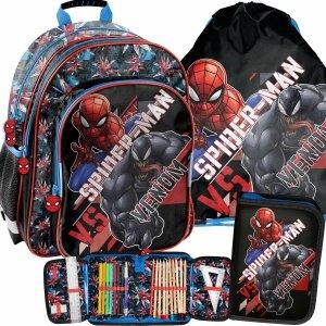 Plecak Szkolny Chłopięcy do 1 Klasy Venom Spiderman [SPX-090]