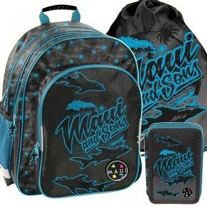 Maui&Sons Plecak Szkolny dla Chłopaka Nowoczesny [MAUM-090]