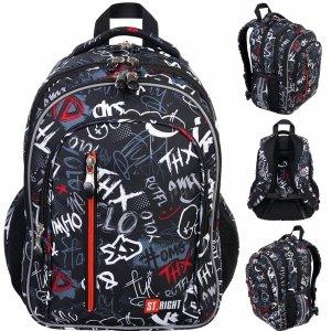 Plecak XD Graffiti Szkolny St.Right Majewski z Napisami [BP68]