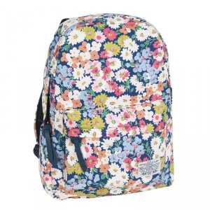 Plecak Kwiatowy Vintage dla Dziewczyny Młodzieżowy Szkolny
