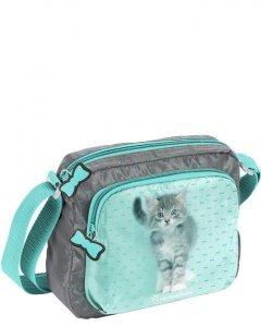 Torebka z Kotkiem Kotem dla Dziewczyny na Ramię [RLC-308]