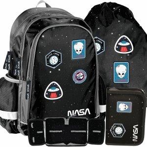 Kosmiczny Plecak Chłopaka Nasa do Szkoły Ufo Szkolny [PP20NS-081]