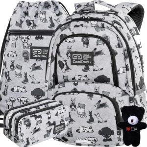Plecak Cp CoolPack Plecak w Małe Pieski dla Dziewczynki Spiner DOGGIES [C01180]